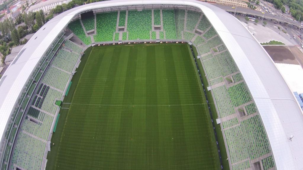 Natural Football Turf Pitch Testing
