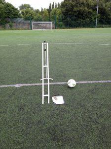 FIFA 3G pitch ball roll testing