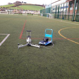 FA 3G Pitch Testing