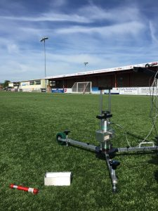 FIFA 3G pitch testing - Advanced Artificial Athlete (AAA)
