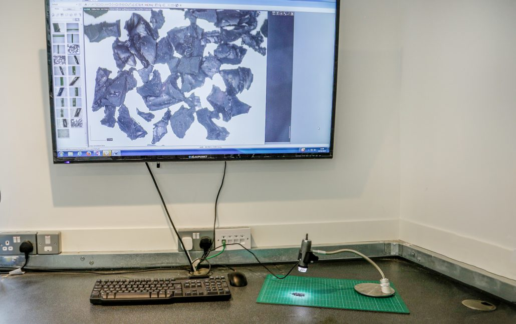 Rubber analysis carried out at the new Surface Performance laboratory